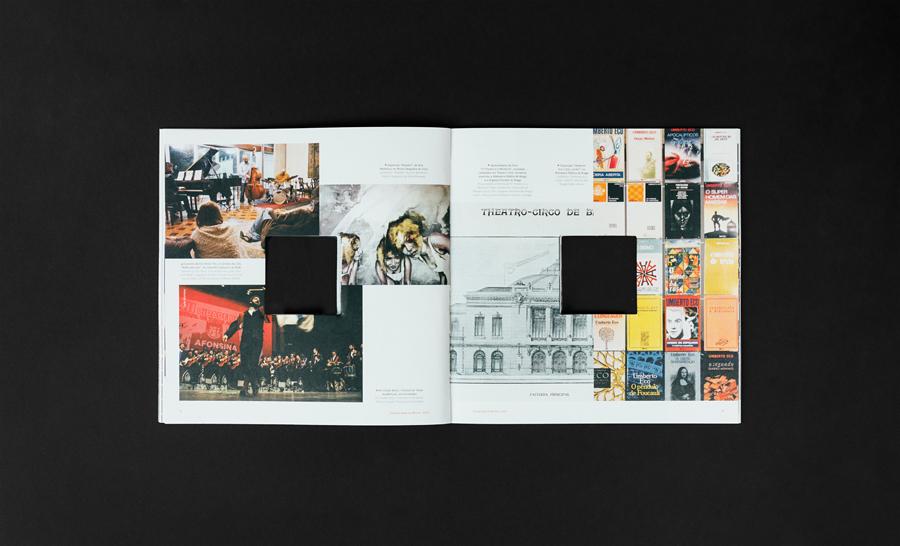 UMinho 2017 anniversary magazine by gen design studio