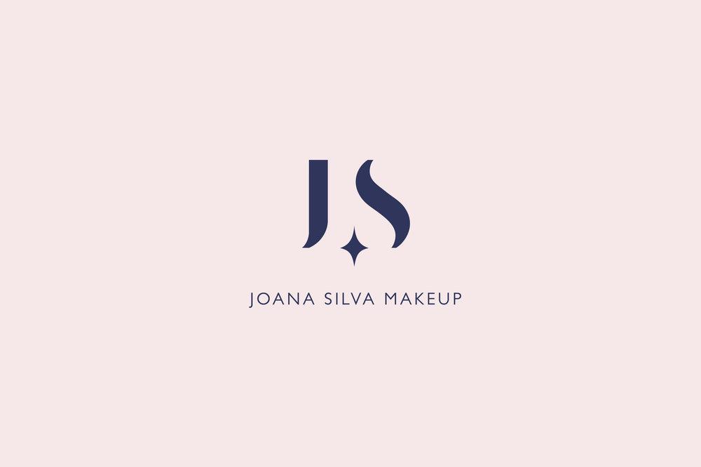 Joana Silva Makeup logo by Gen Design Studio