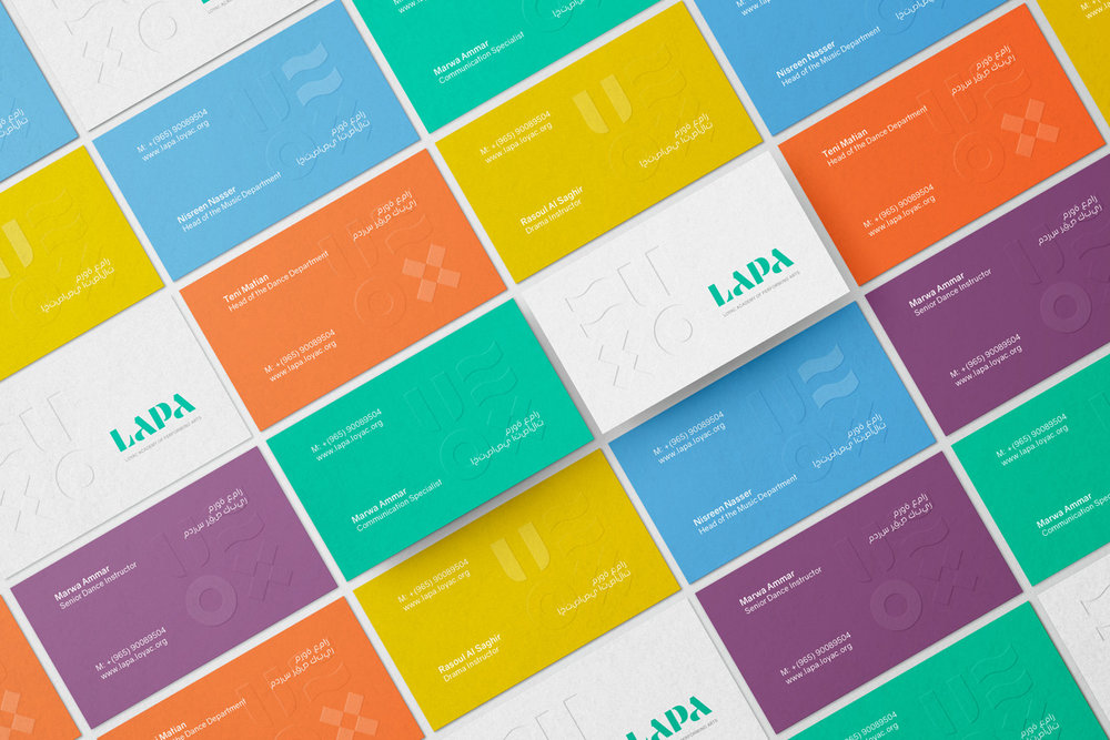 LAPA identity by Gen Design Studio