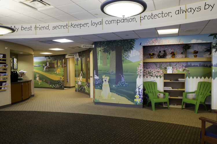 Custom Commercial Wall Covering
