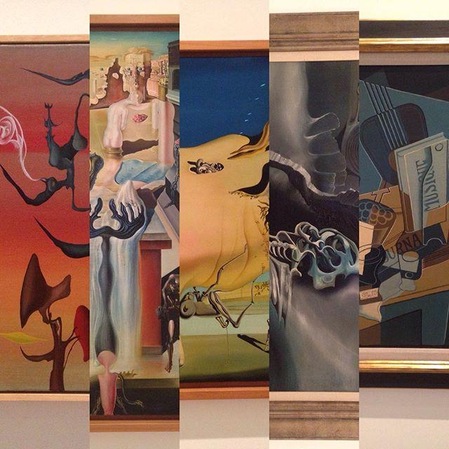 Antonio Suara, Salvador Dali, Oscar Dominguez, Juan Gris #spanishart #art #spain #españa #museum #artgallery #modernart #museoreinasofia #reinasofia #dali #culture #Madrid