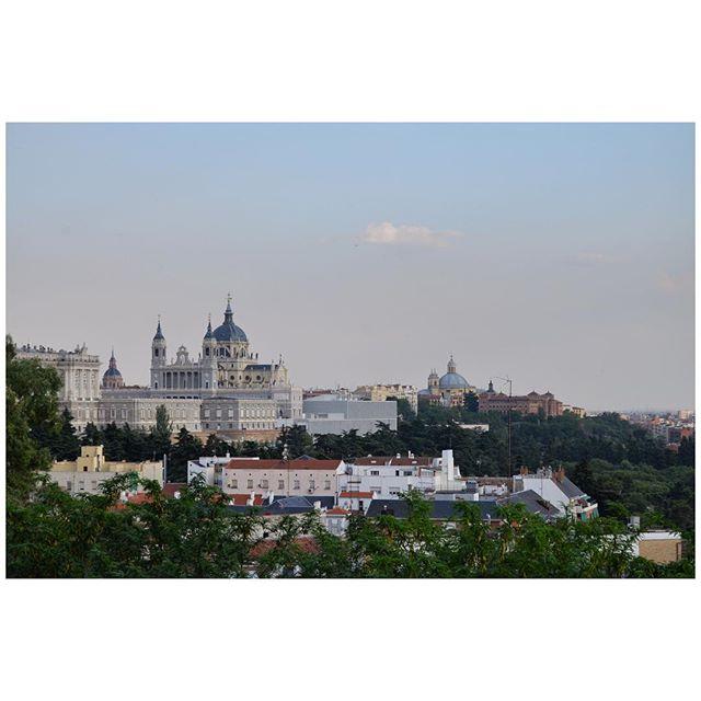 Royal palace of Madrid #palace #royal #madrid #almudenacathedral #cathedral #madrid #spain #españa #templodedebod