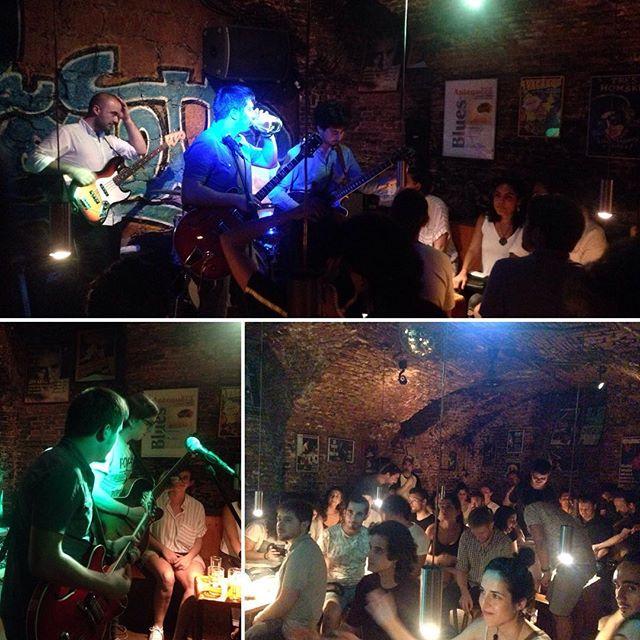 Great night of #music at La Coquette #blues bar! #livemusic #Madrid #españa #spain #bluesband #memphistrain