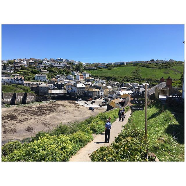 #portisaac the other day - sunnier than today #sunnyday #cornwall #fishingvillage #bluesky #seaside