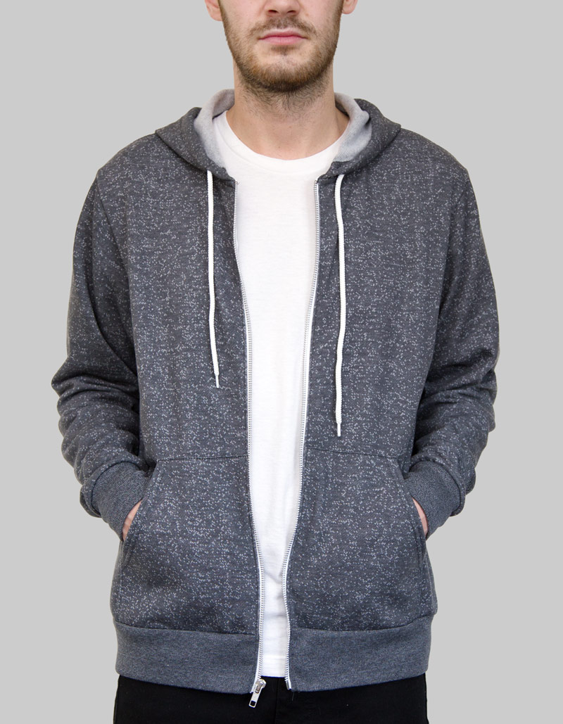 Essential Zip Hoodie Unisex / 240gsm / 14 Colours