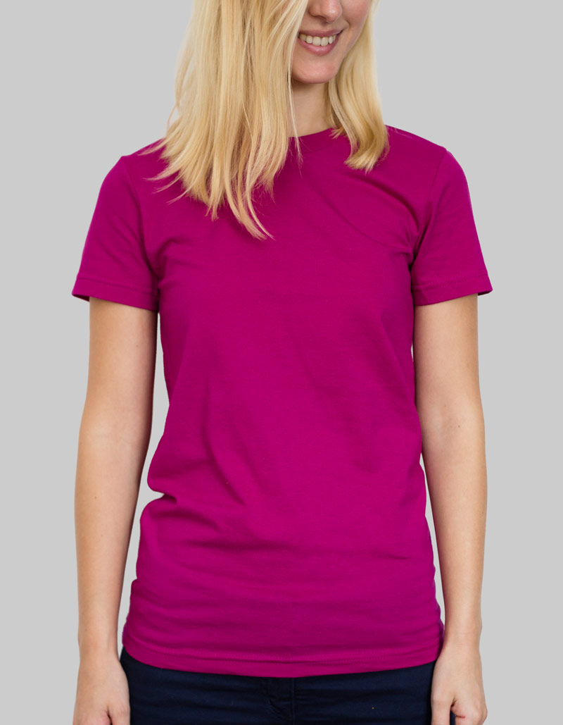 Ladies American Apparel T-Shirt Ladies / 146gsm / 14 Colours