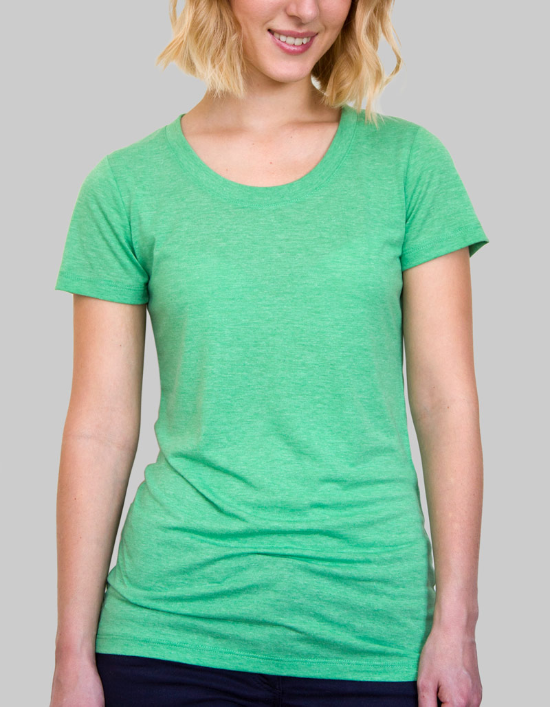 Ladies Tri-Blend T-Shirt   Ladies / 135gsm / 7 Colours