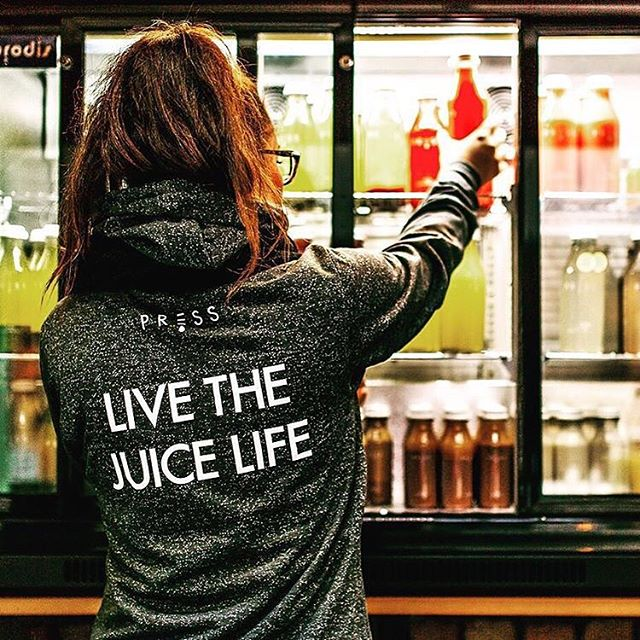 Live the juice life! --- The hoodies we printed for @press_london look incredible. And if you haven't tried their cold-pressed juices yet, you're missing out! 👌 --- #thejuicelife #presslondon