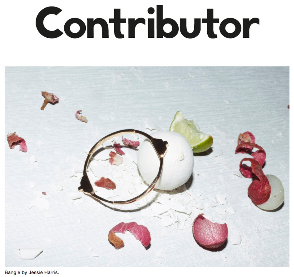 """CONTRIBUTOR MAGAZINE– AUGUST 2014"""