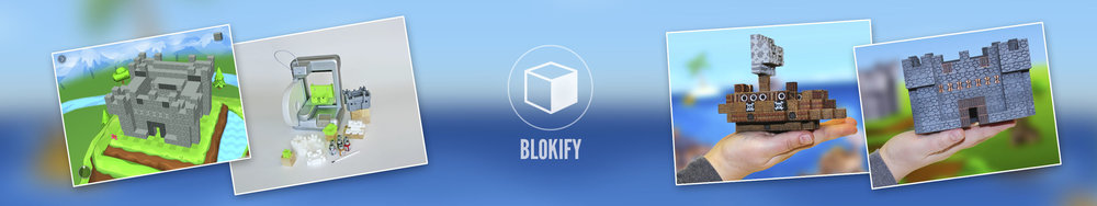 images are promotional material of  BLOKIFY