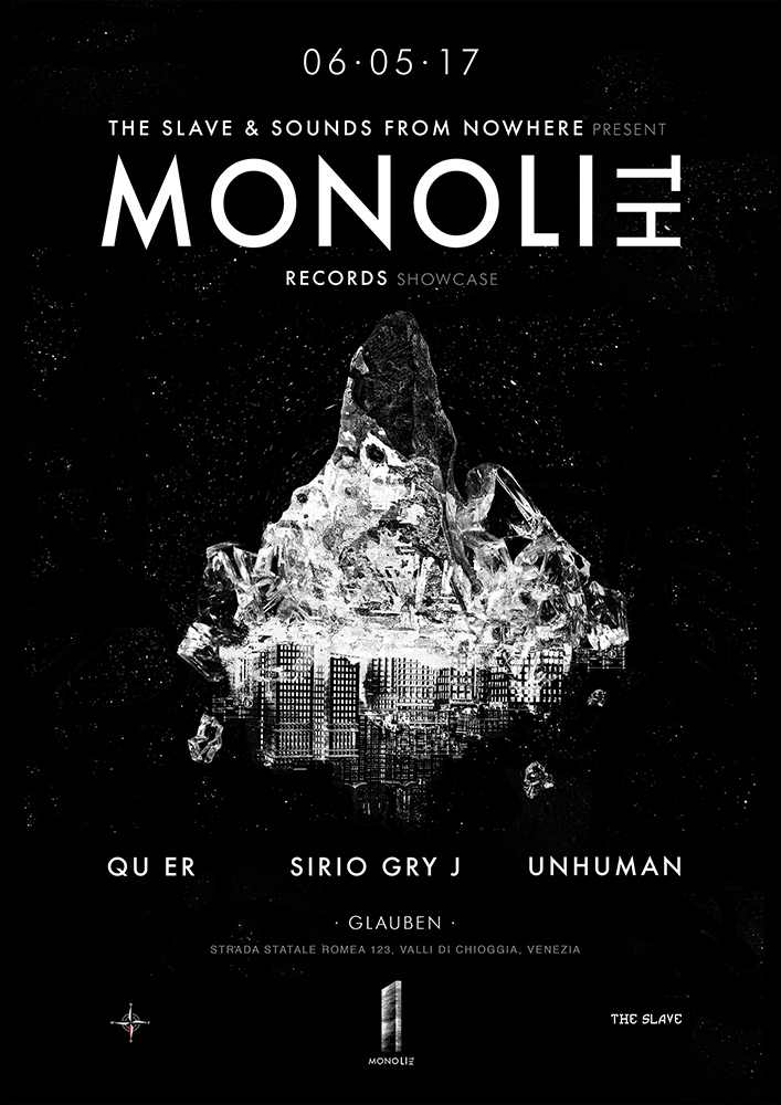 Monolith Showcase, Venezia, May 2017