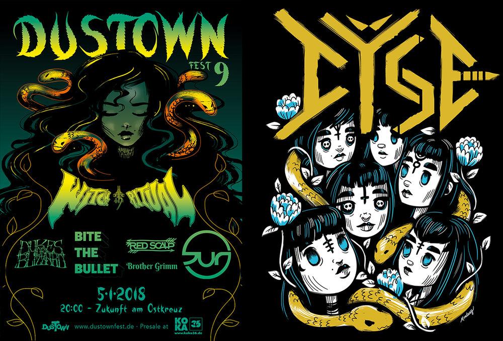 Dustown, 2017 & Dÿse 2017