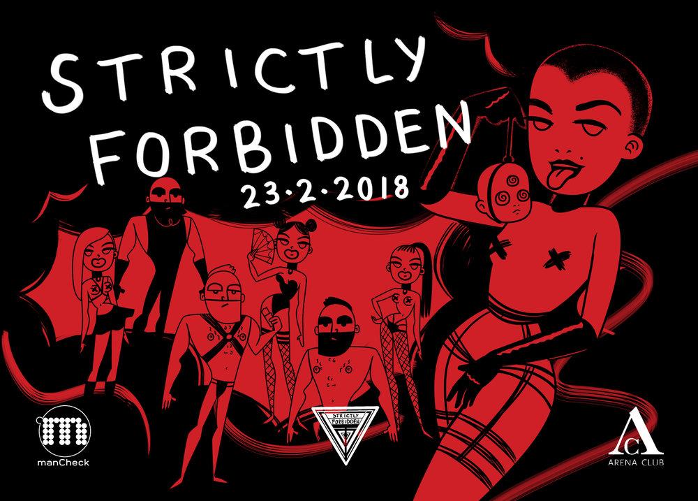 Strictly Forbidden x Arena Club