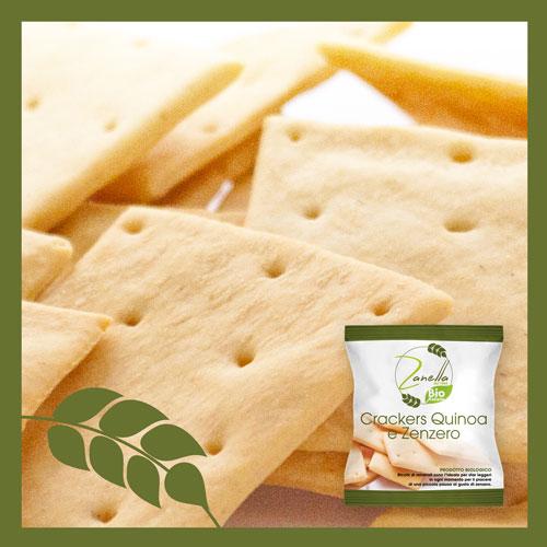 Quinoa Ginger Crackers