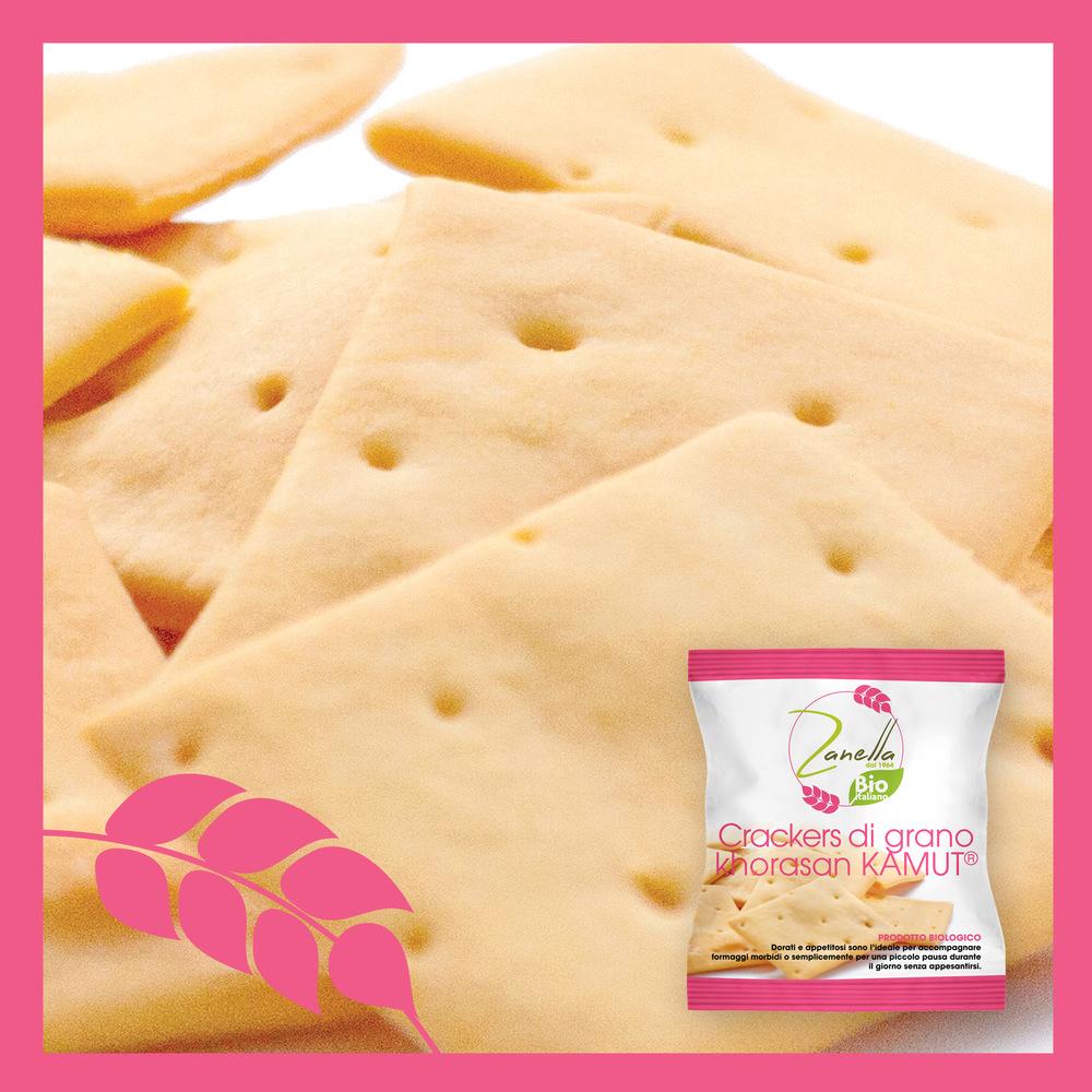 Crackers di grano khorasan Kamut®
