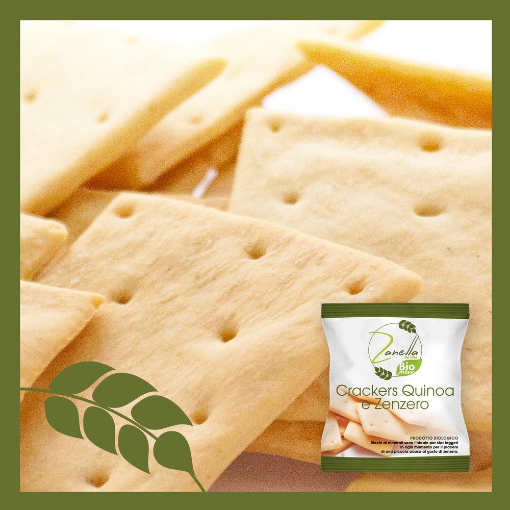Crackers Quinoa e Zenzero