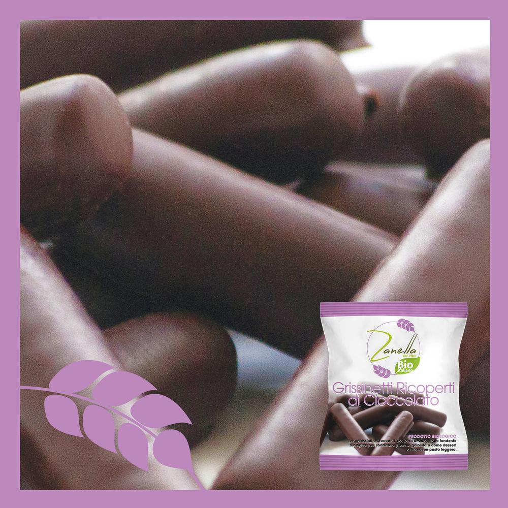Grissinetti Ricoperti di Cioccolato