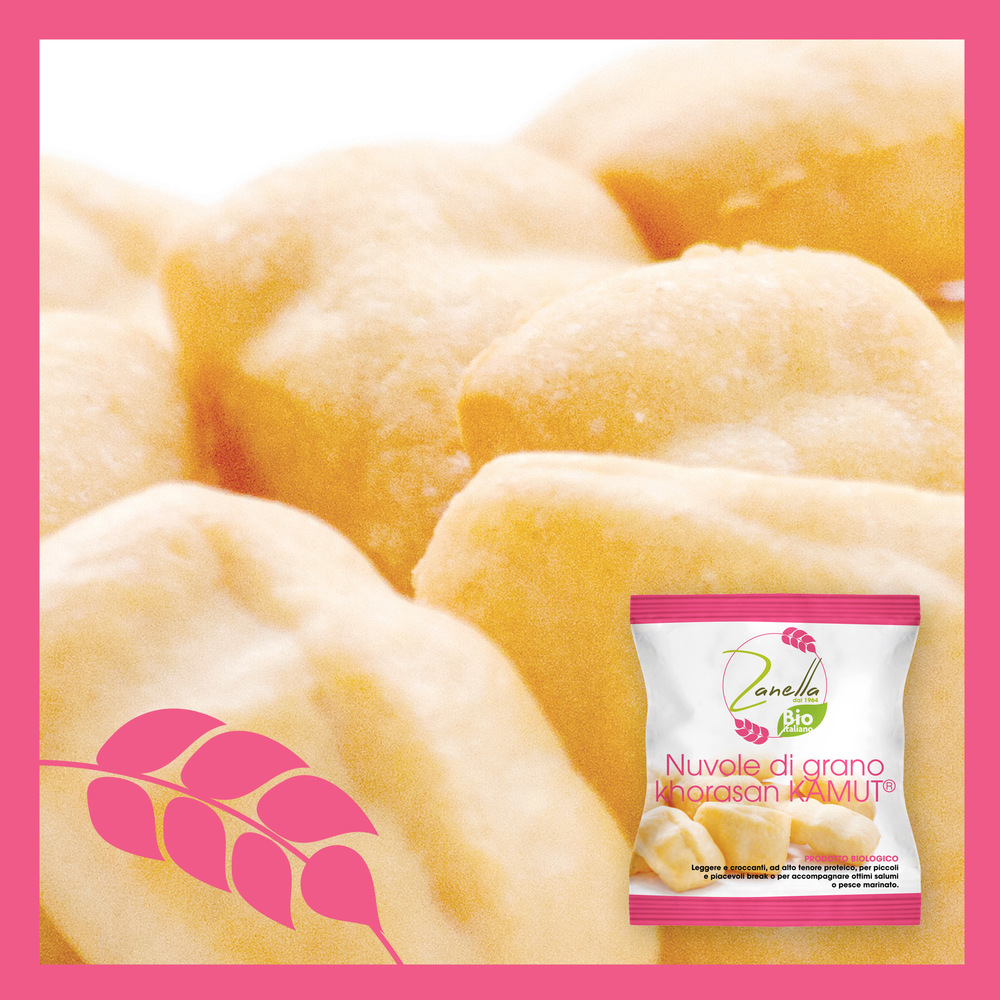 Nuvole di grano khorasan Kamut®