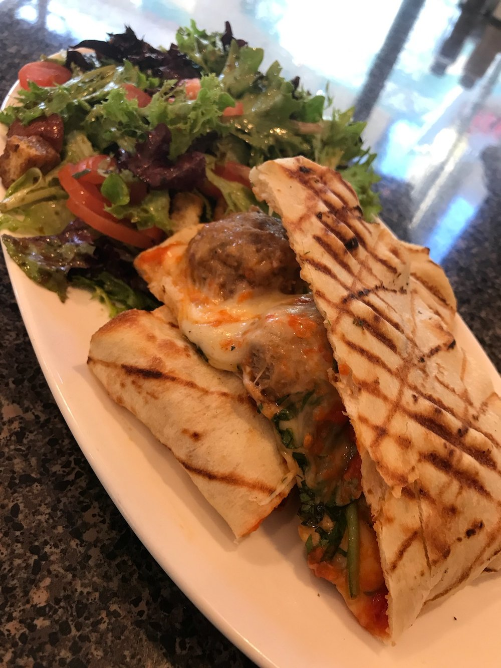 NATIONAL MEATBALL DAY - MARCH 9TH, 2018For one day only, we're bringing back our Meatball Panini for lunch in celebration of National Meatball Day! Don't miss it.