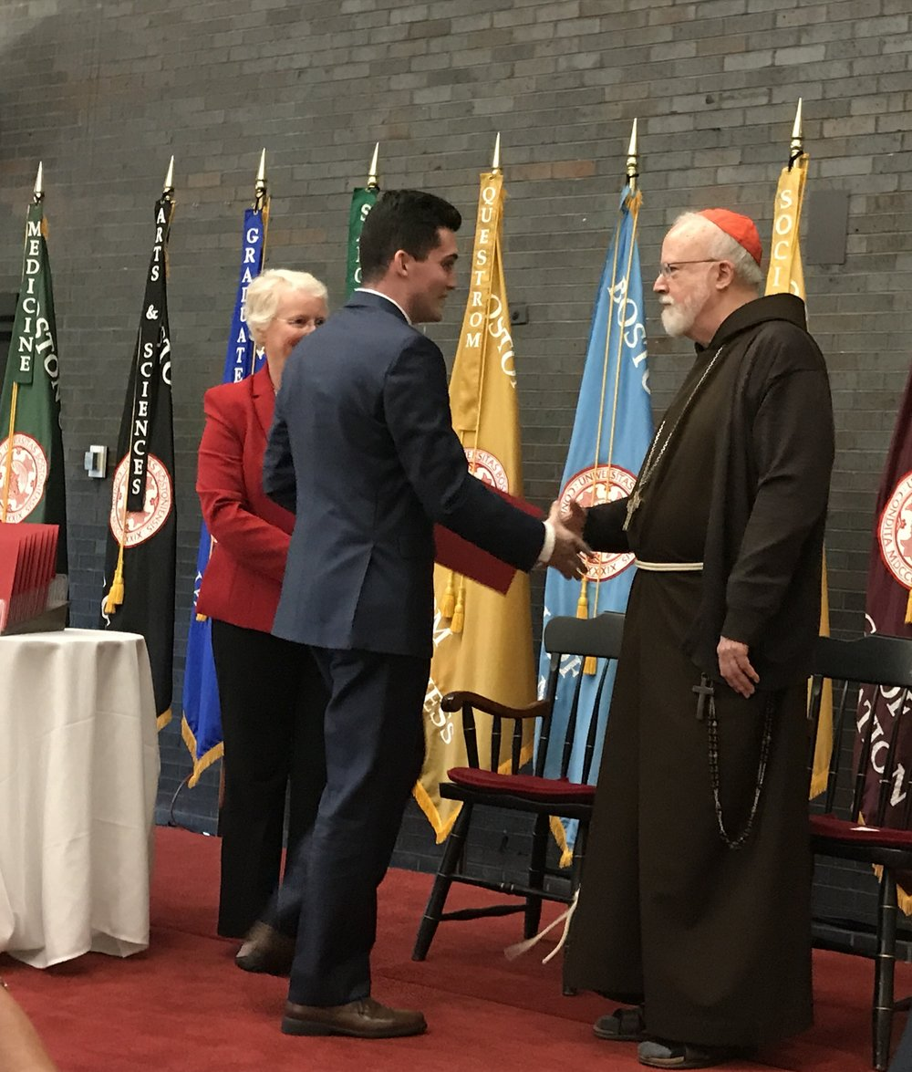 Meeting Cardinal O'Malley