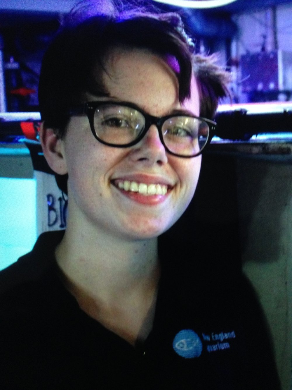 "Margaret ""Maggie"" Slein '17 of Scituate completed her fourth summer internship at the New England Aquarium before heading off to Reed College, Portland, Oregon, where she will study environmental science."
