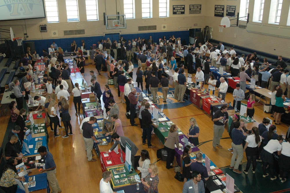 Juniors and seniors had a chance to meet with representatives from more than 123 colleges and universities at the annual college fair