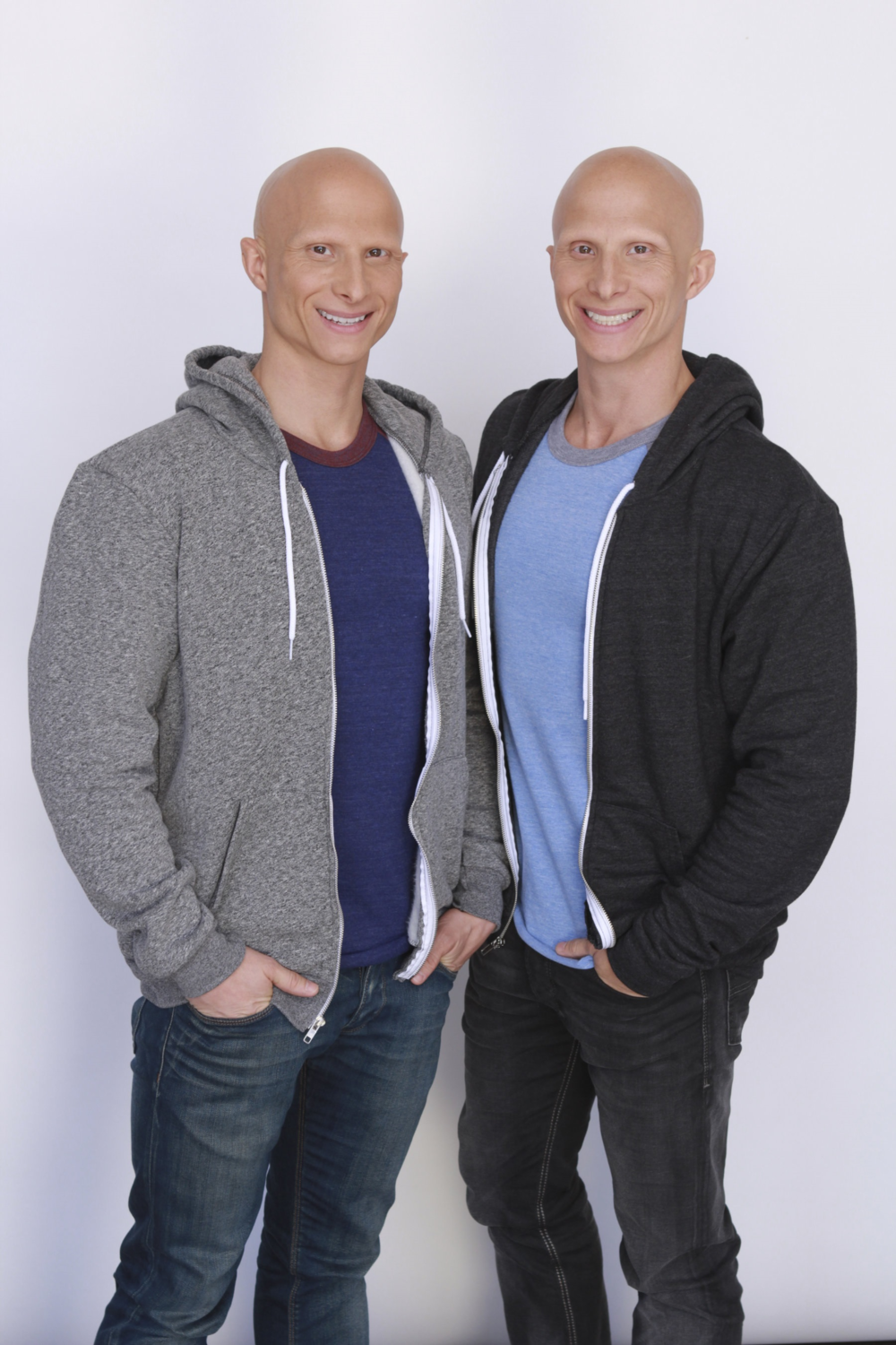Matt (left) and Mike Perfetuo, Archbishop Williams High School Class of 2000, have achieved success as actors performing in movies, TV commercials and TV series, and are awaiting the February 16 release of their latest movie, Detective Chinatown 2.