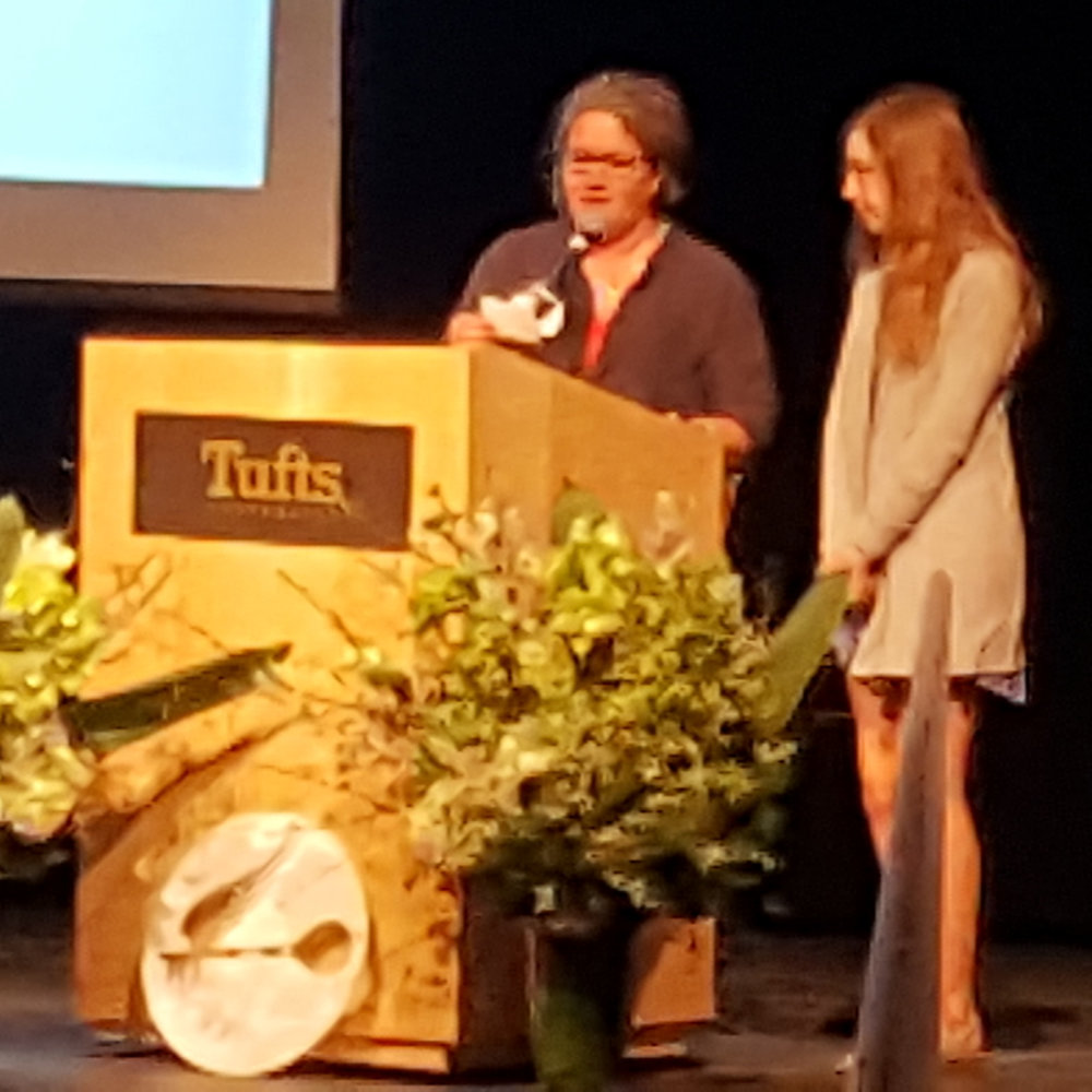 "Senior Vanessa Lorusso received a Regional Gold Key Award for her short story, ""Wilson and His Snowman,"" at a ceremony at Tufts University where her work is on display until March 25. The honor was bestowed by the Mass. Scholastic Art and Writing Awards program, which is sponsored by the School of the Museum of Fine Arts at Tufts University and the Boston Globe. This year, Lorusso also received an Honorable Mention Award  for her short story, ""Home Away in the Stars."""