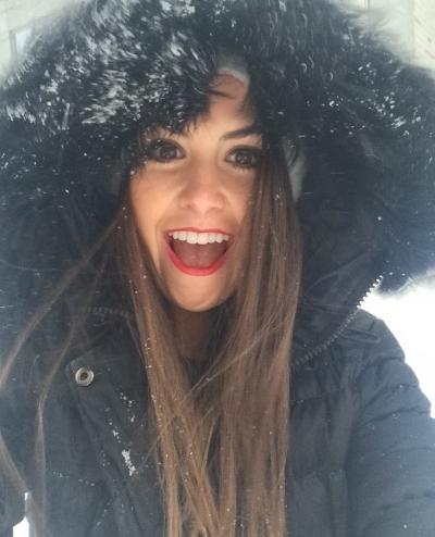 classic blizzard selfie