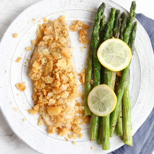 Easy 20 Minute recipe for Cape Cod Haddock // Awesome weeknight recipe with only 3 ingredients! Click to read now or pin for later!
