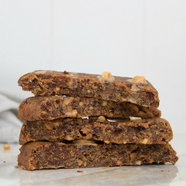 Three Ingredient Energy Bars from She Well