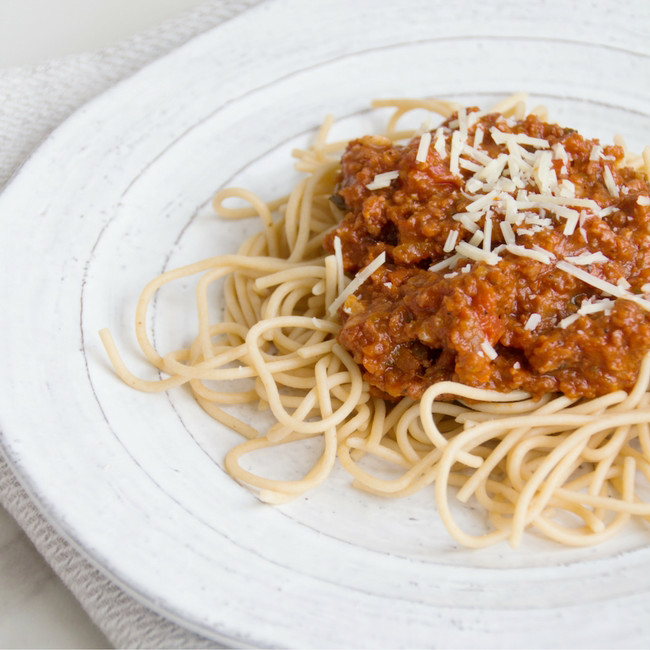 Vegan Bolognese from She Well