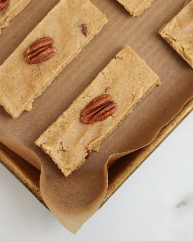 Maple Pecan Protein Bars
