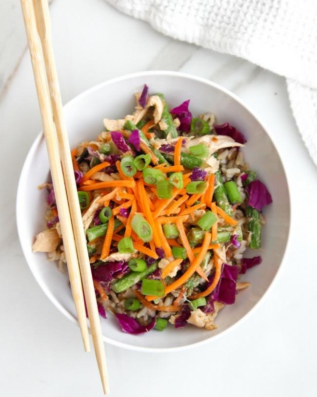 Weeknight Chinese Chicken Salad