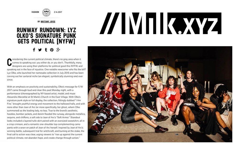 MILK AW17 SHOW REVIEW