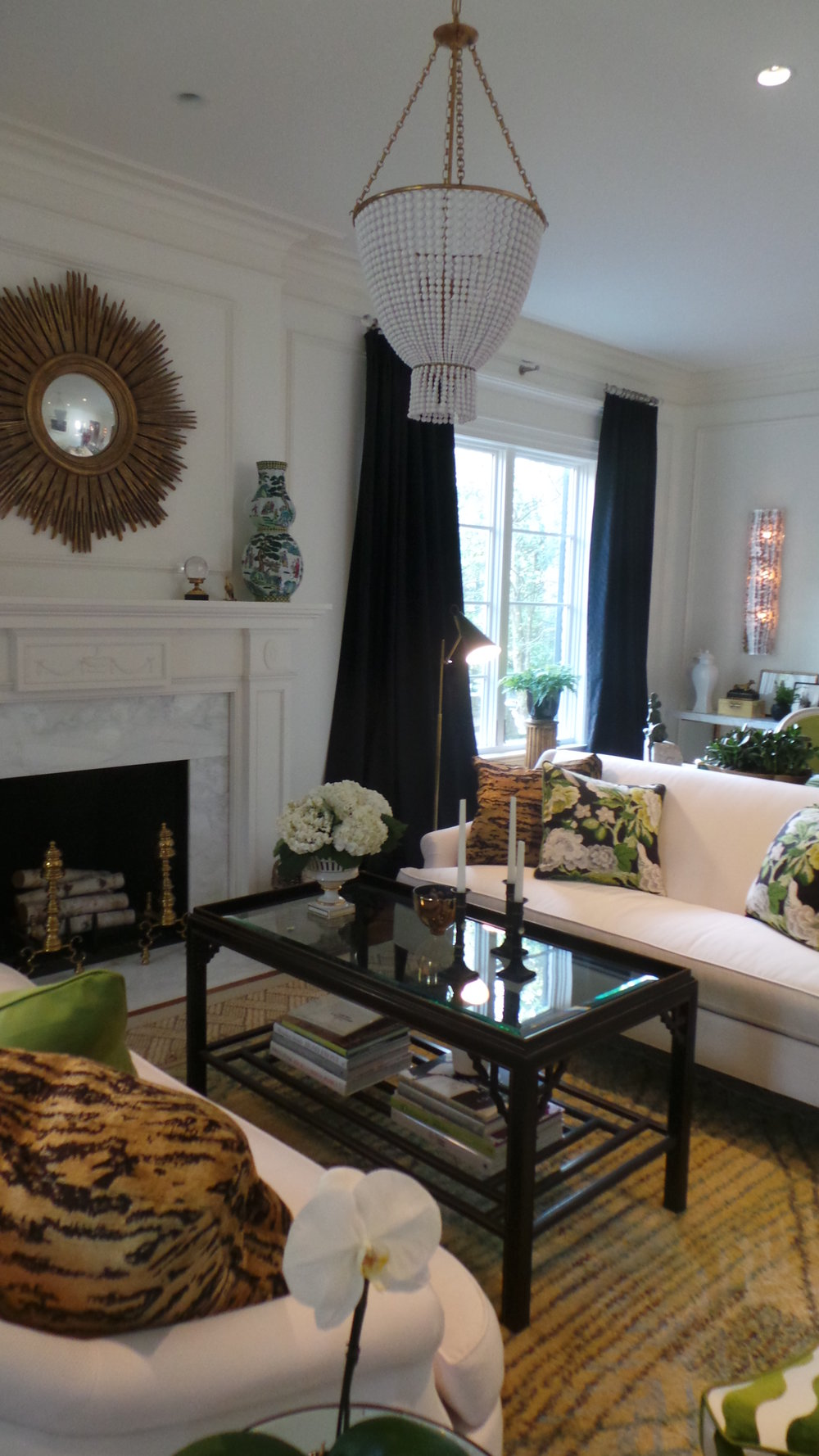 Family Room by Pamela Harvey Interiors; photo by Holly O'Brian
