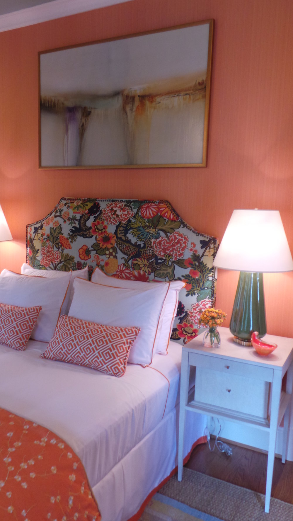 Bedroom by Charles C. Almonte; photo by Holly O'Brian