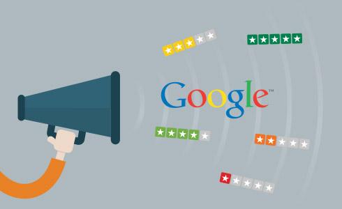 Billede af Google Sælgerbedømmelser