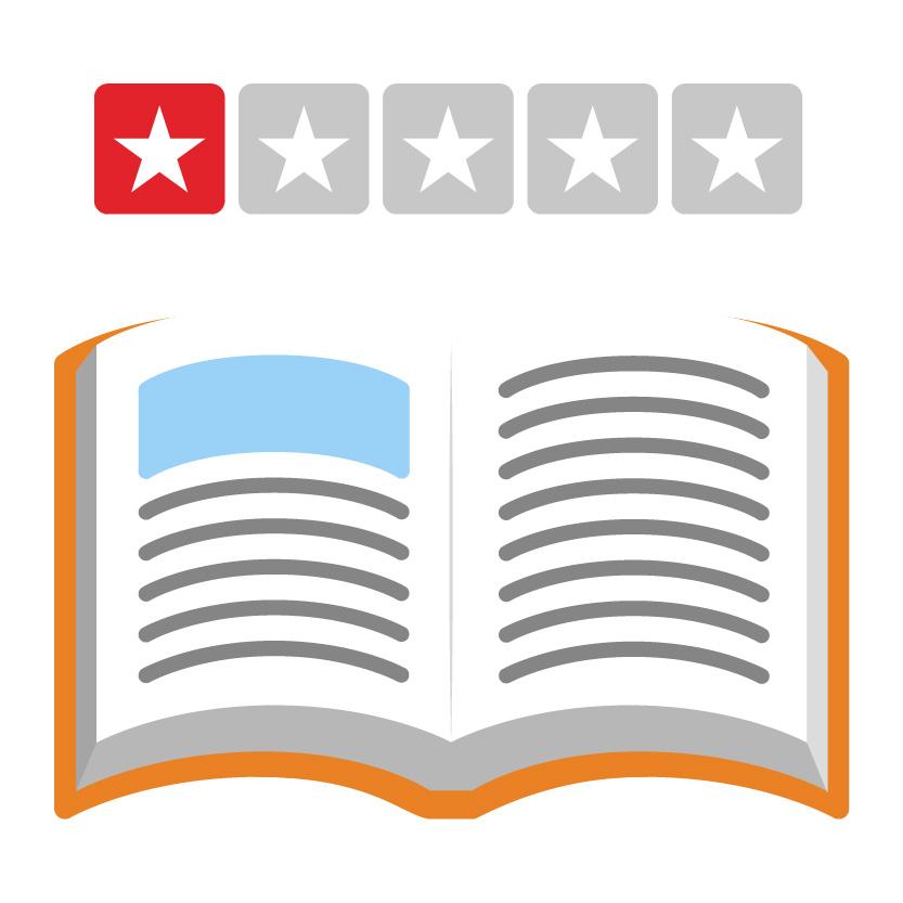 Dårlig anmeldelse bog