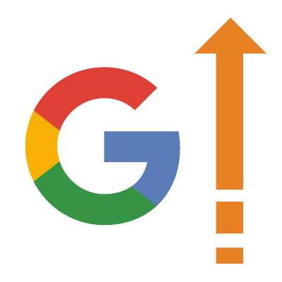 Google med pil op