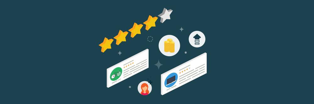 Anmeldelser og stjerner