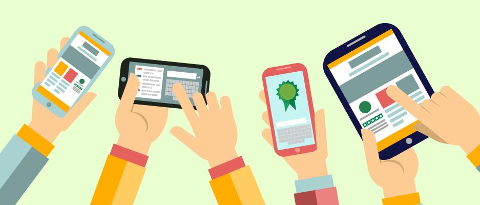 Anmeldelser p� mobile platforme