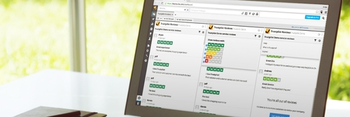 Få overblik over dine anmeldelser med Trustpilots Hootsuite app