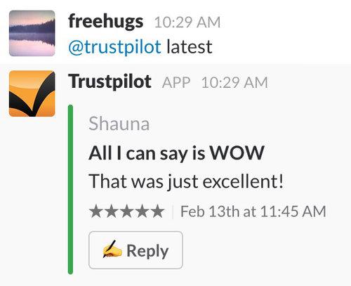 Trustpilot, anmeldelser, sociale medier