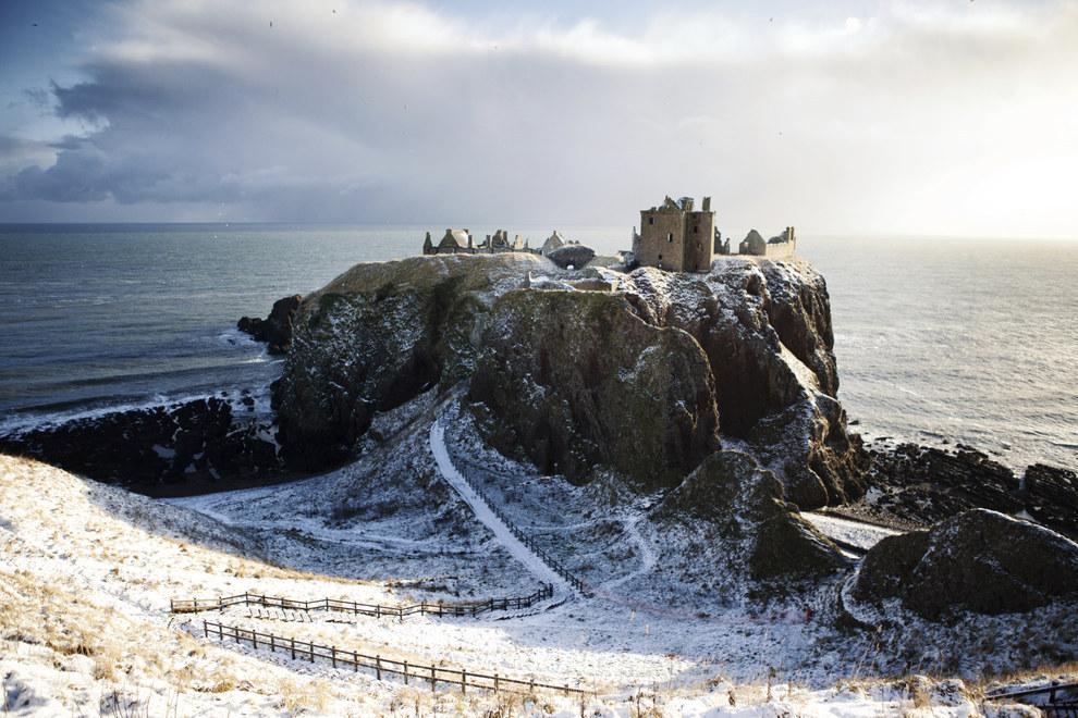 Dunottar Castle, Aberdeenshire -  via