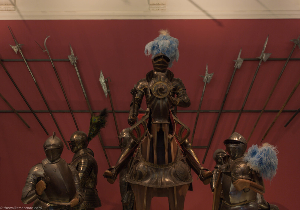 The Kelvingrove has an impressive collection of armor and weapons.