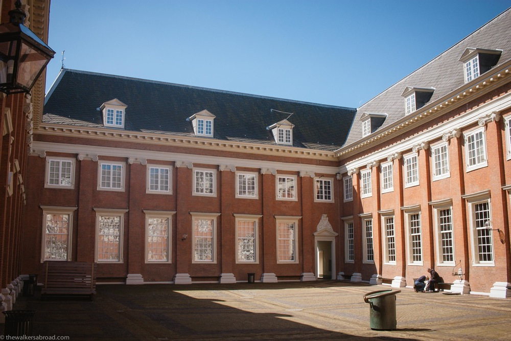 The courtyard of the Amsterdam Museum