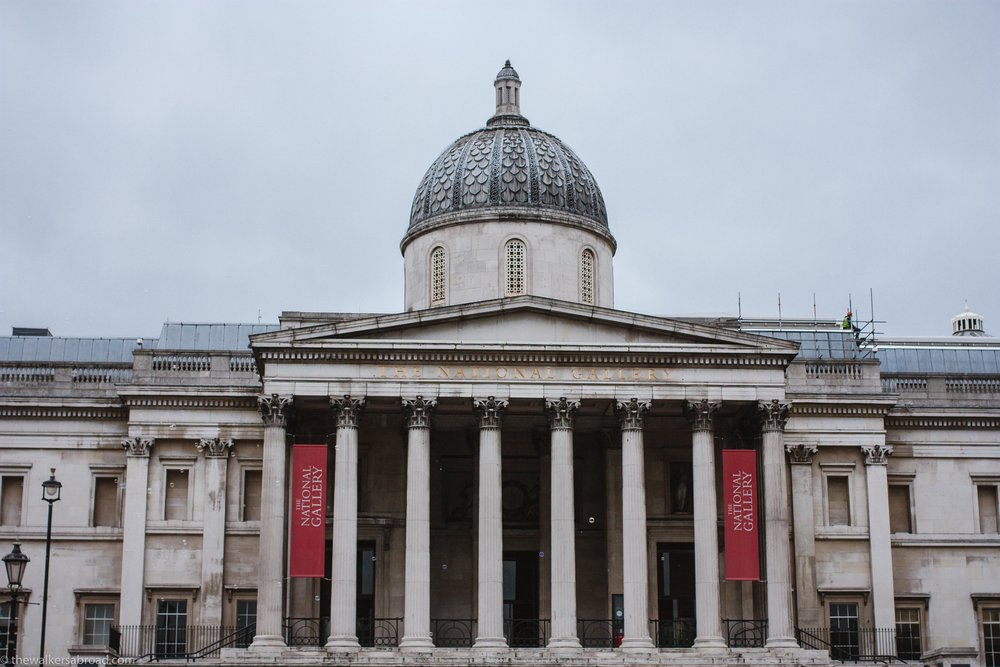 National Gallery. See the bubbles?