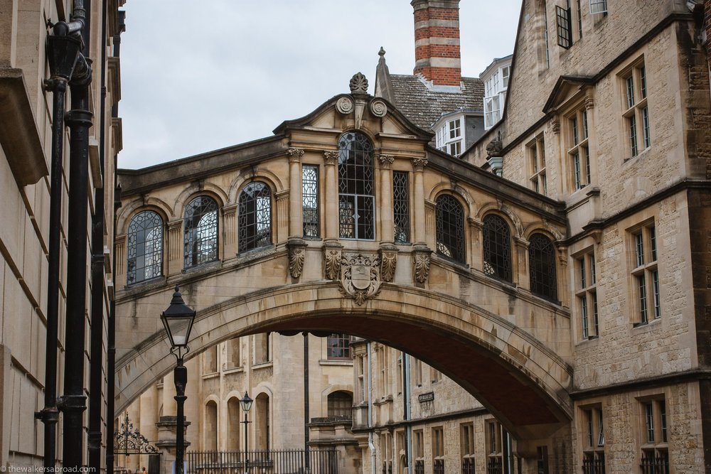 Bridge of Sighs, Oxford, UK