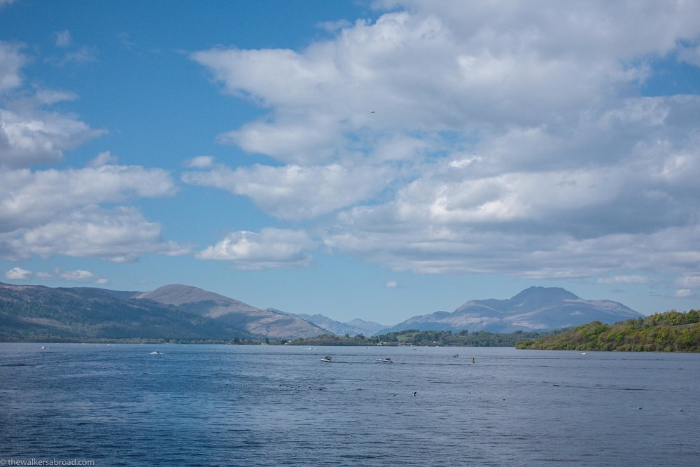Loch Lomond from Balloch Shores